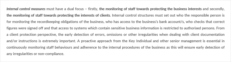 internal measures 4